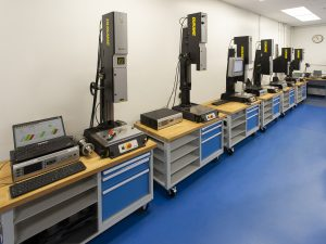 Ultrasonic Welding Lab for testing, research and development-Dukane
